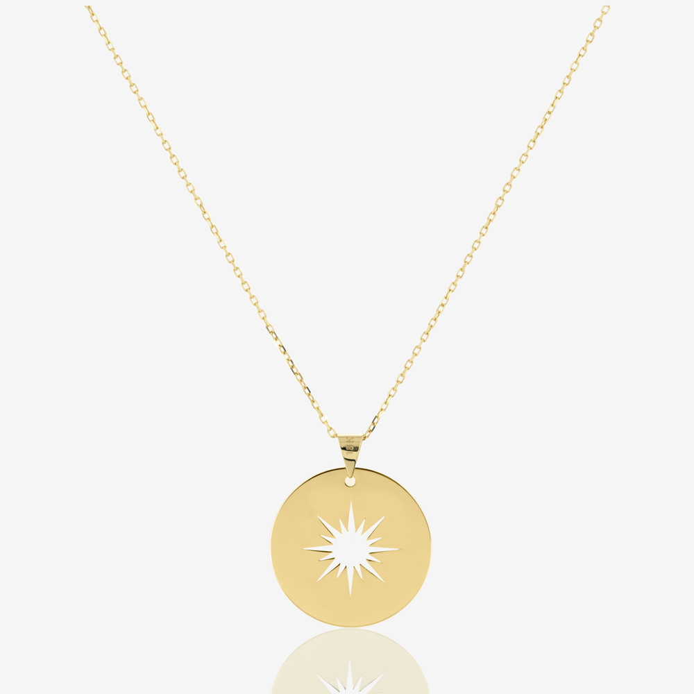 Aurora Coin Necklace