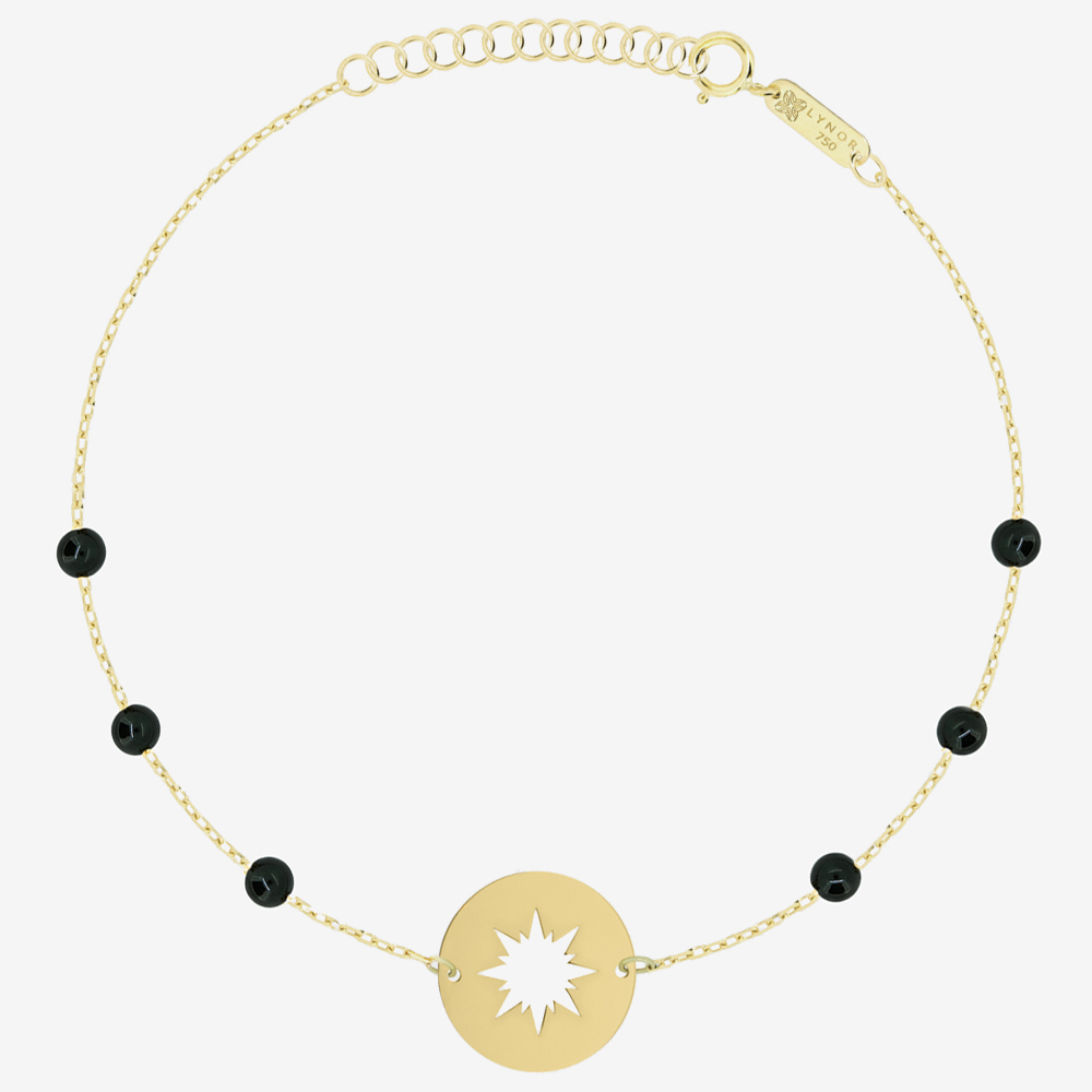 Sunshine Bracelet in Black Onyx