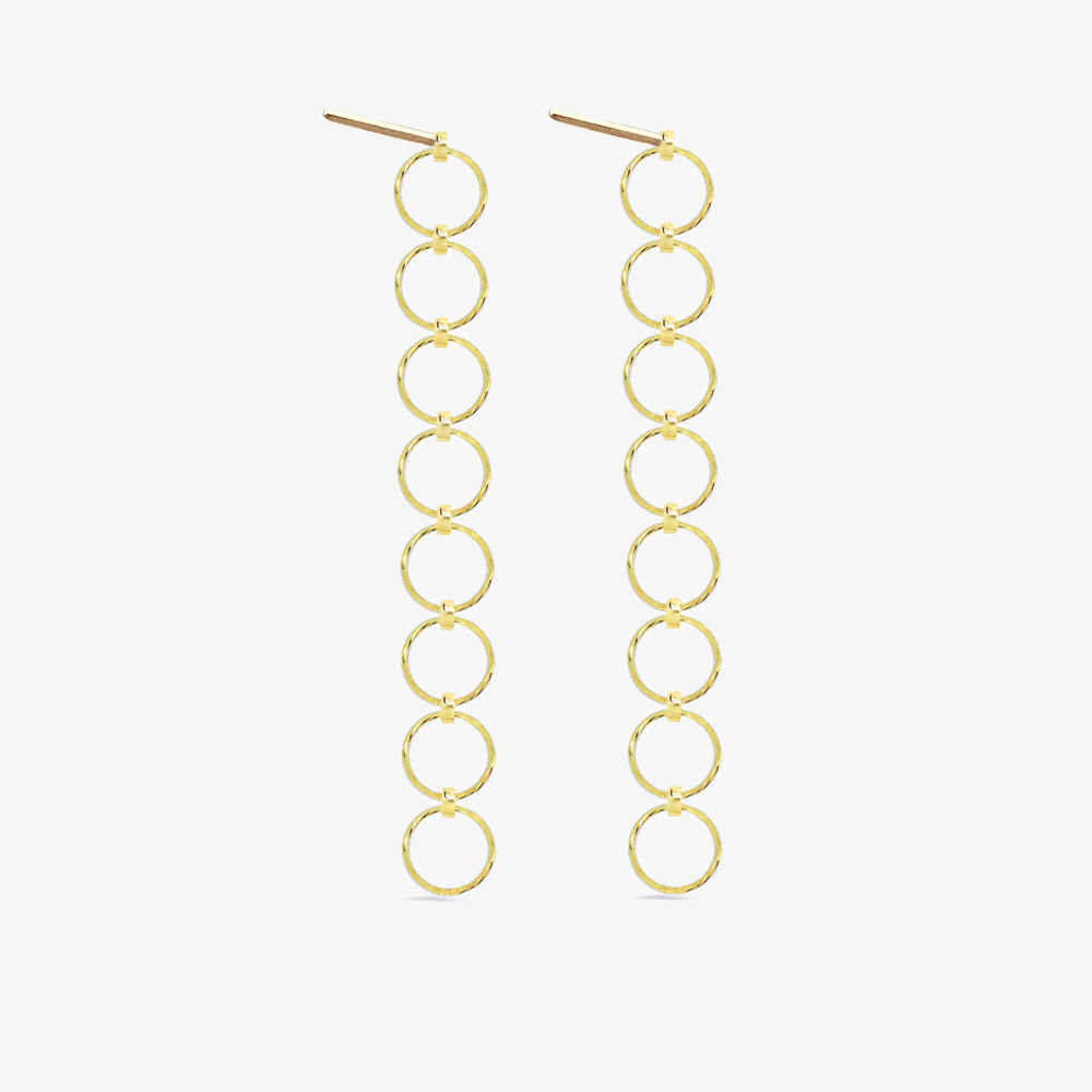 Circle Sequence Earrings