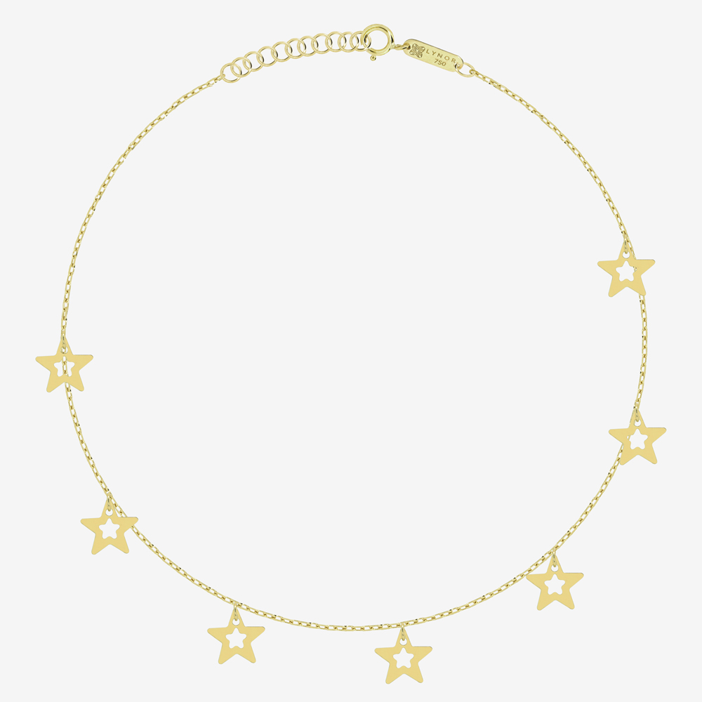 City of Stars Anklet