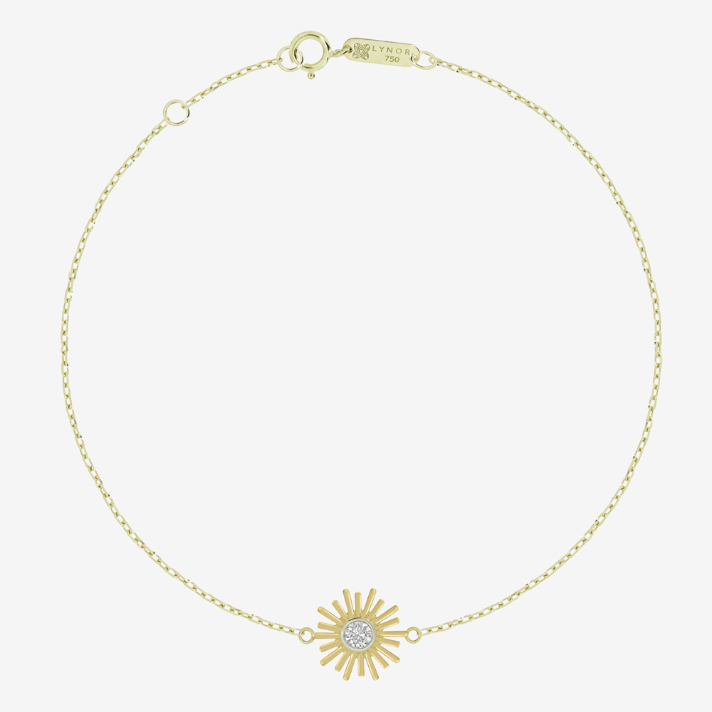 Mini Sunshine Diamond Bracelet