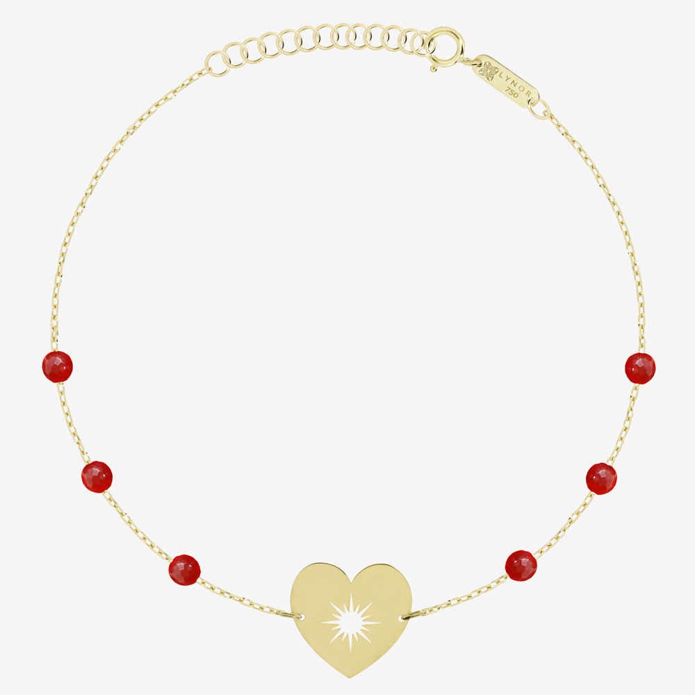 My Sunshine Bracelet in Charming Red Carnelian
