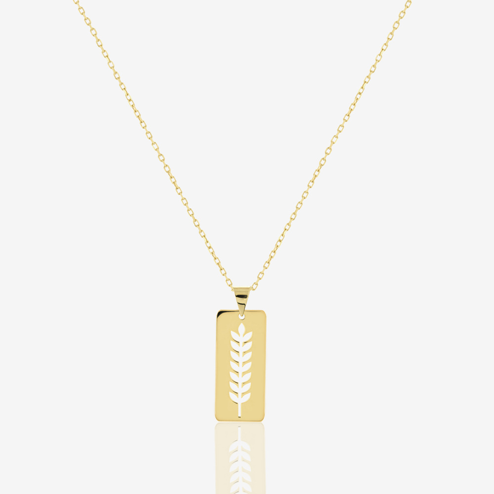 Fortuna Tag Necklace