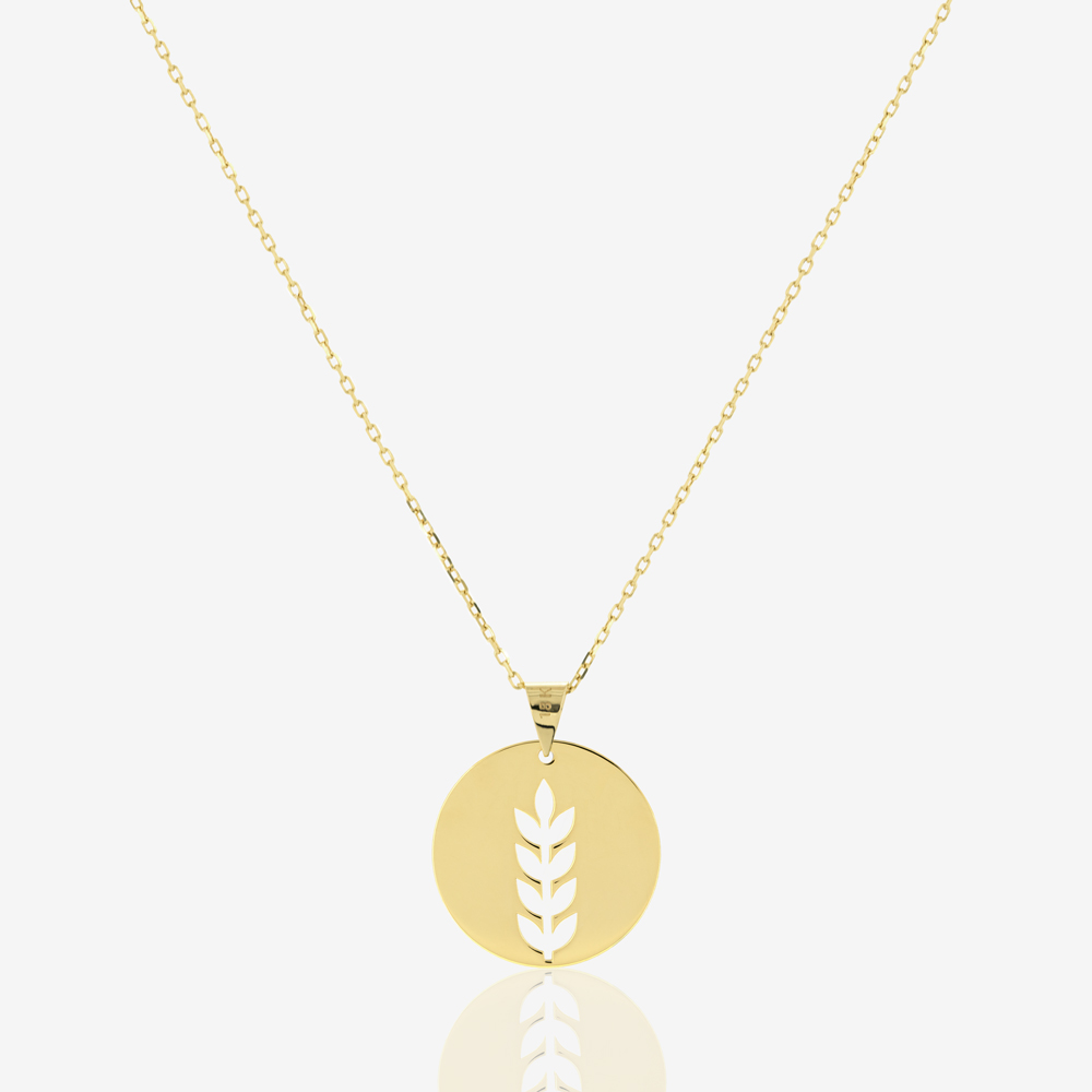 Large Fortuna Coin Necklace