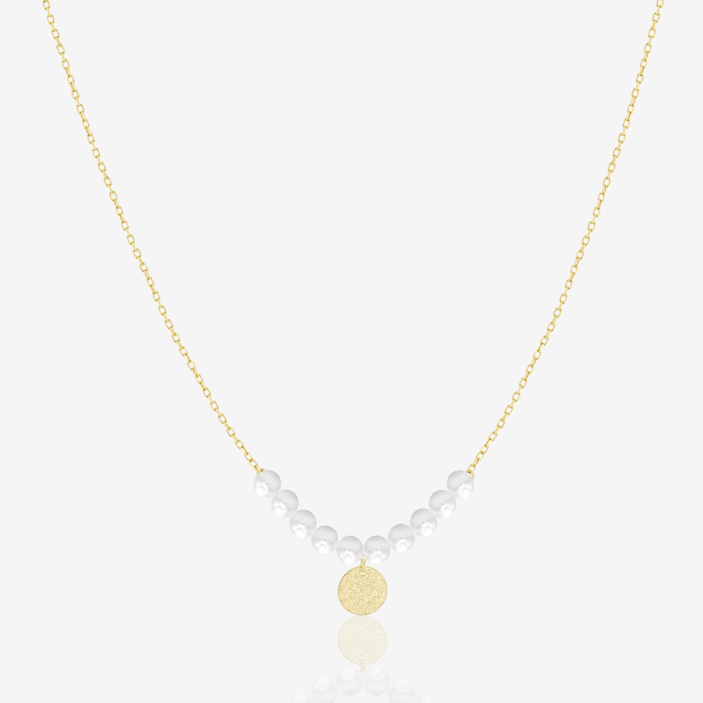 Lori Necklace in Pearl