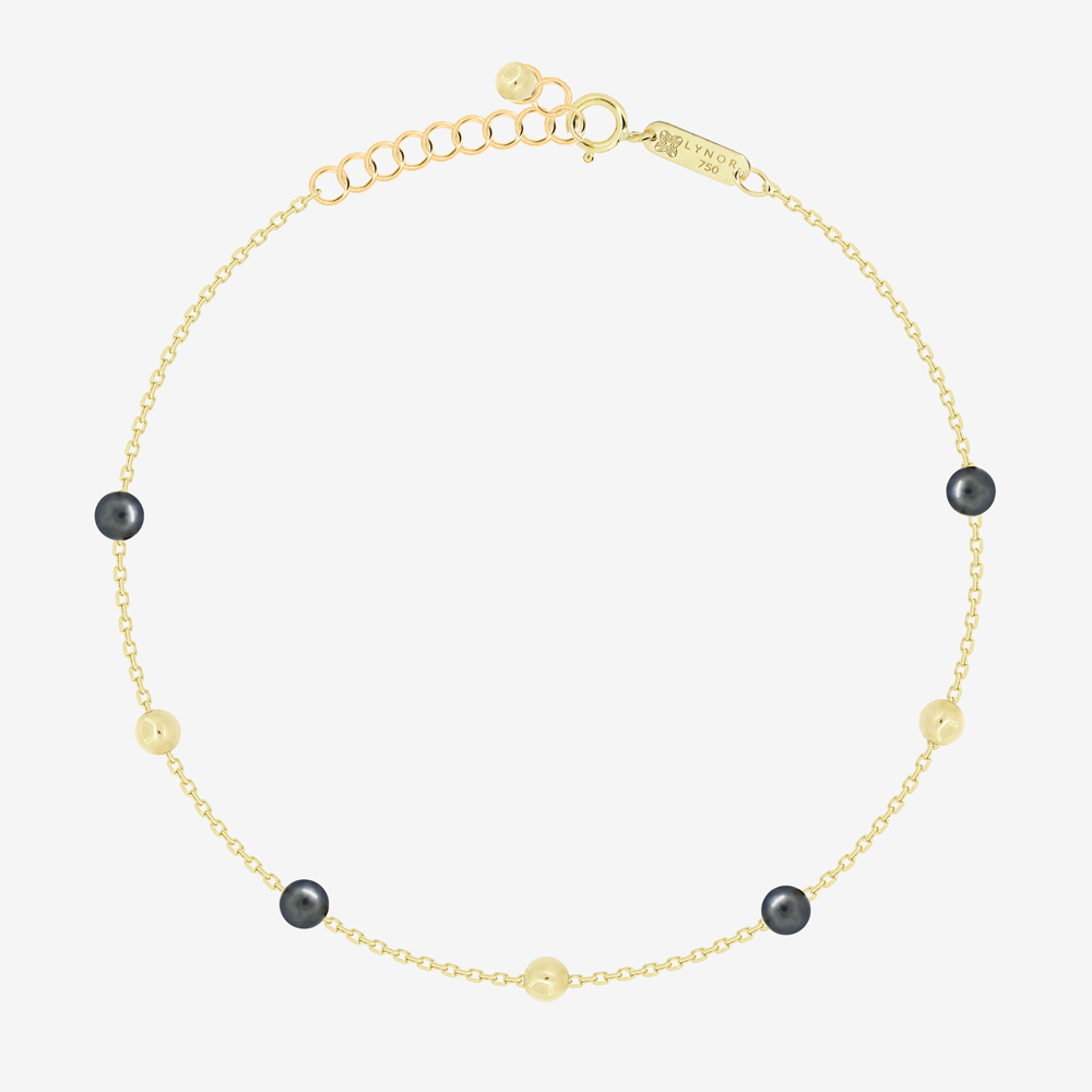 Margo Bracelet in Black Pearl
