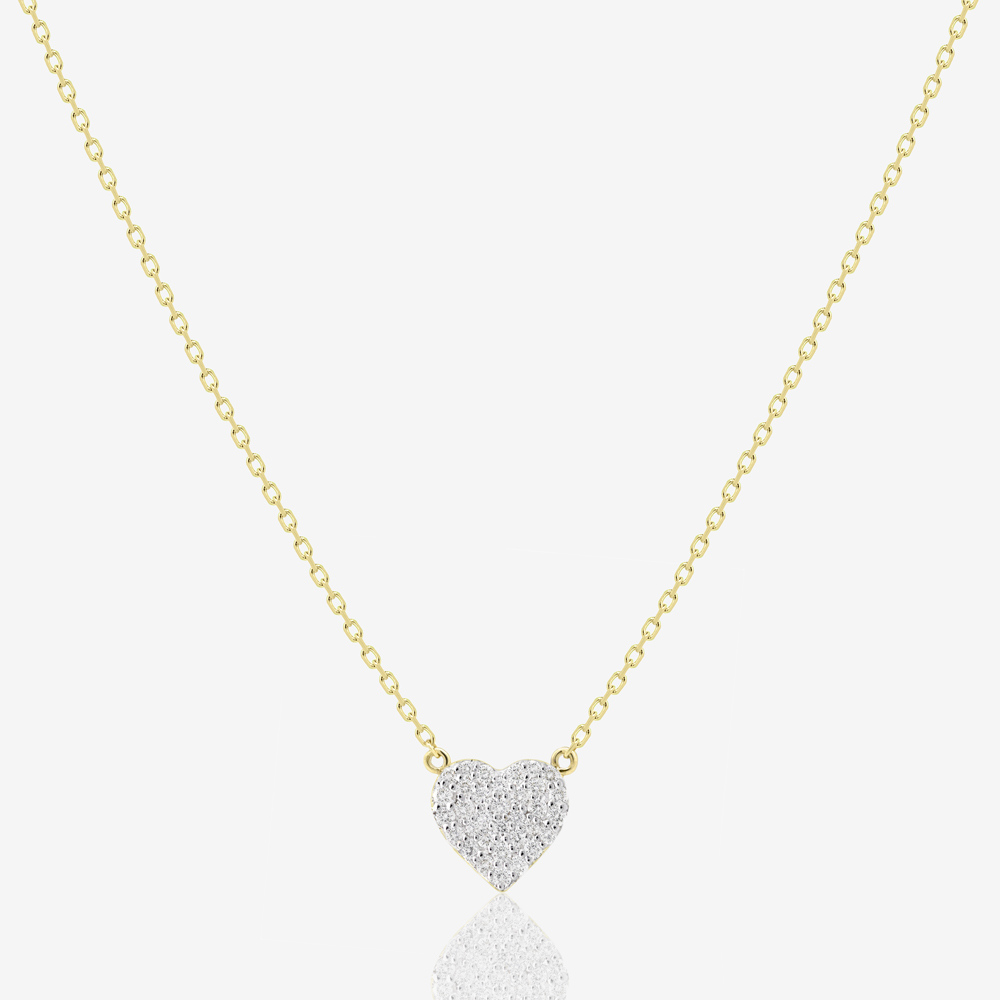 Cora Necklace in Diamond