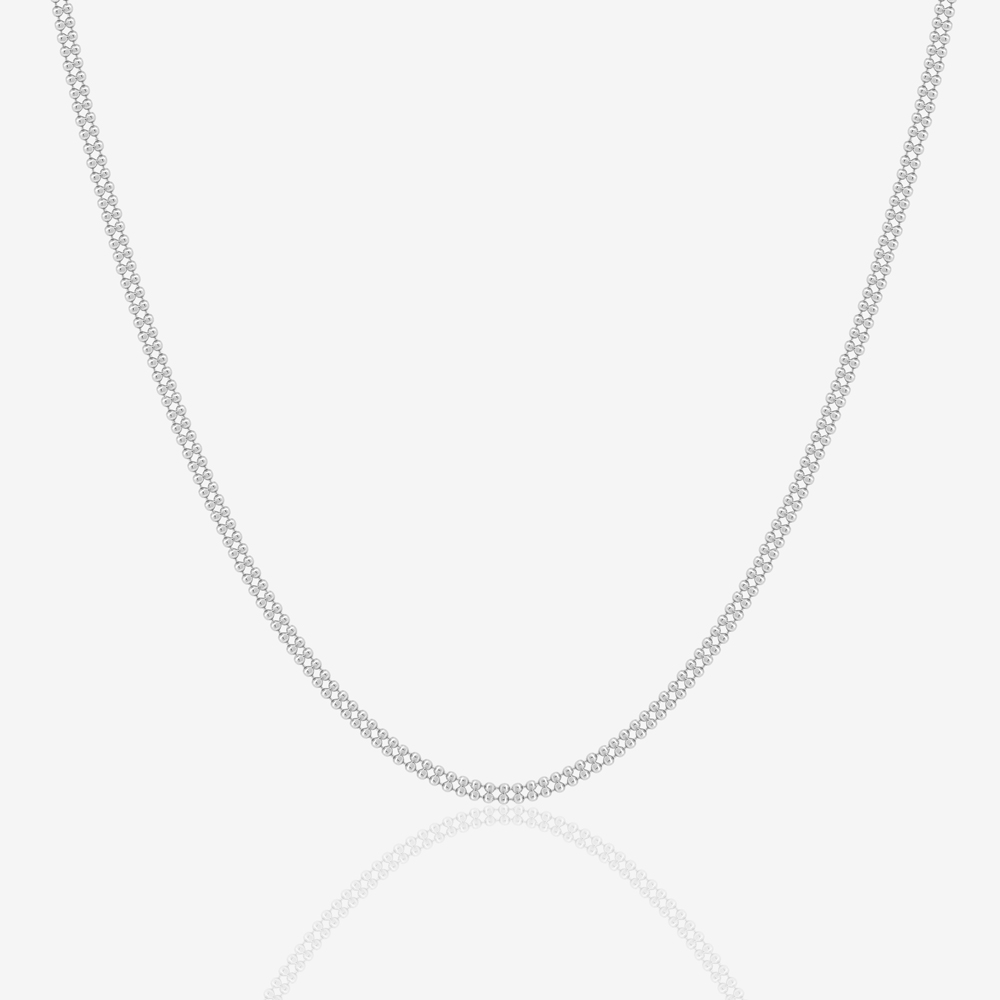 Cyra Necklace in White