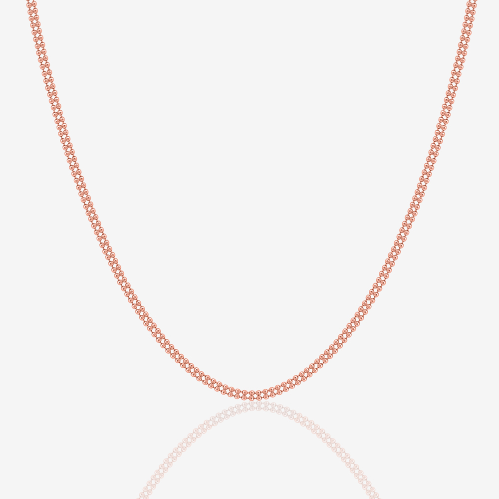 Cyra Necklace in Rose