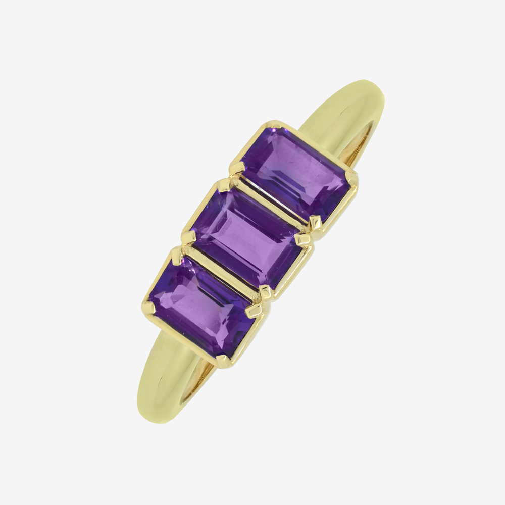 Amy Ring in Amethyst