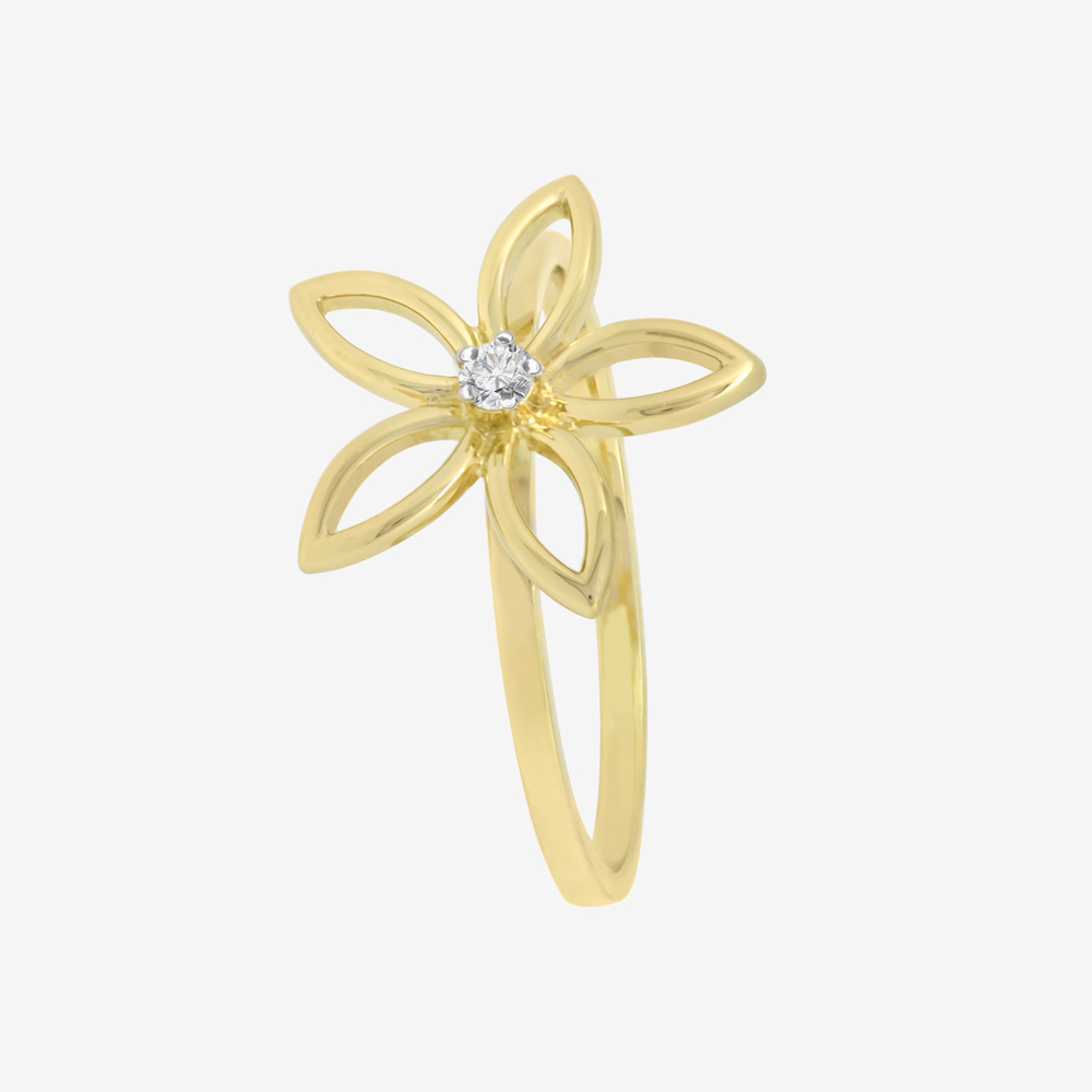 Daisy Ring in Diamond