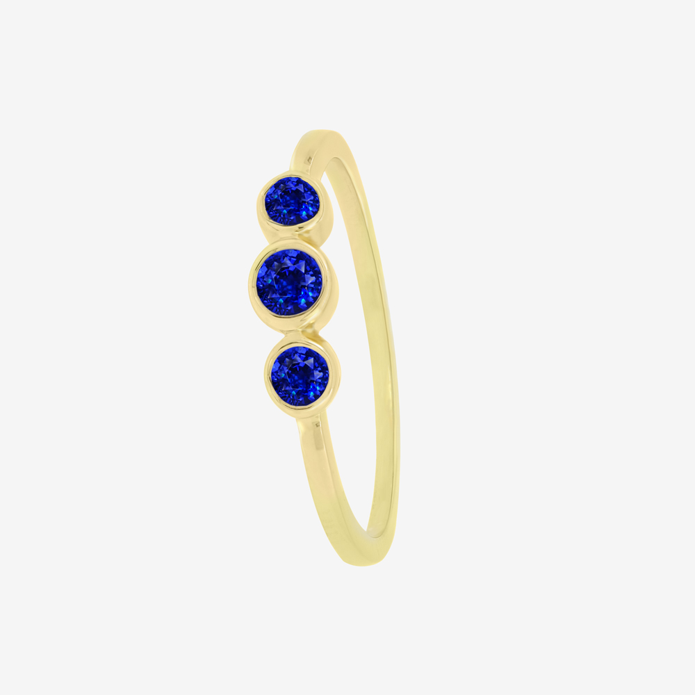 Sapphire Ray Ring