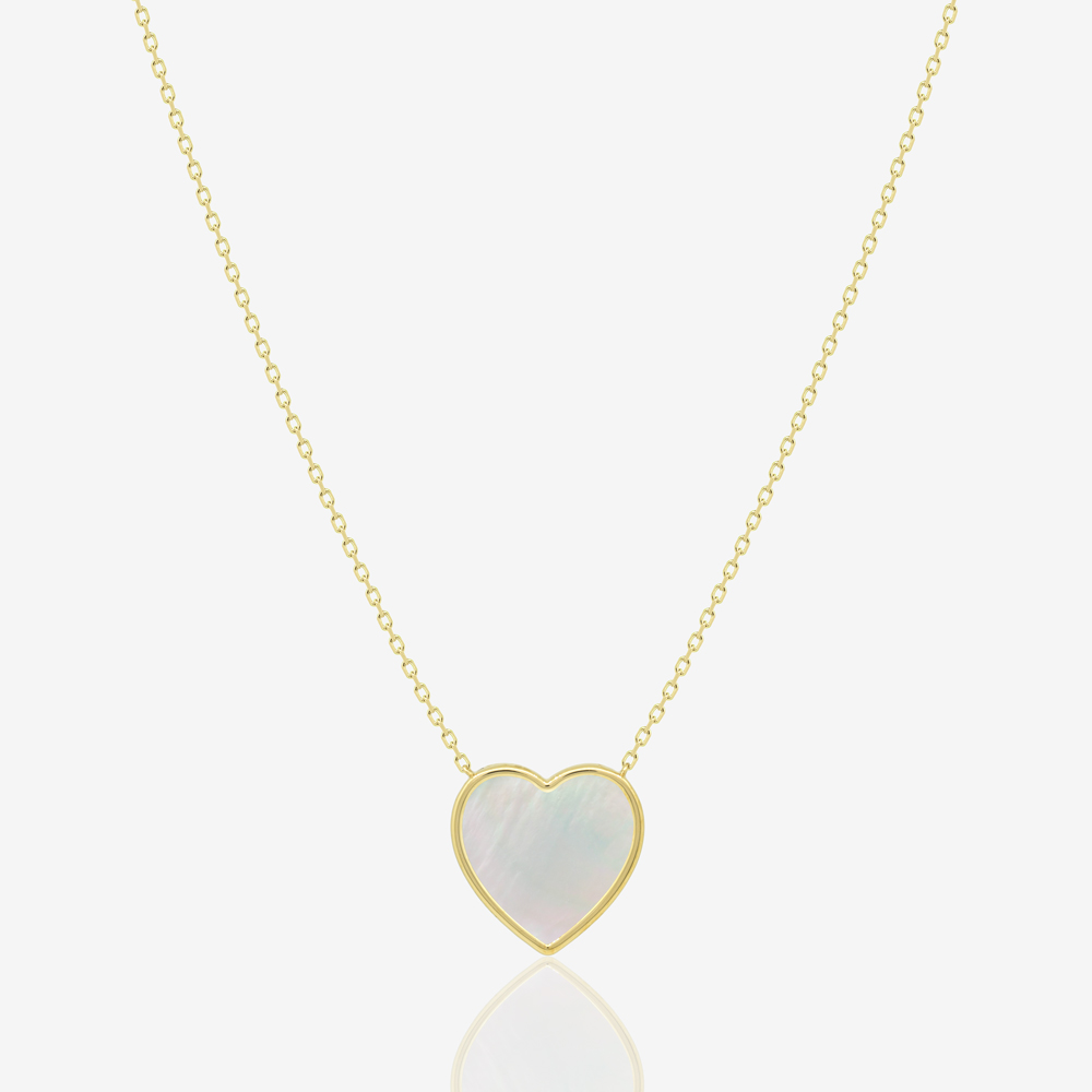 Cora Necklace in Mother of Pearl