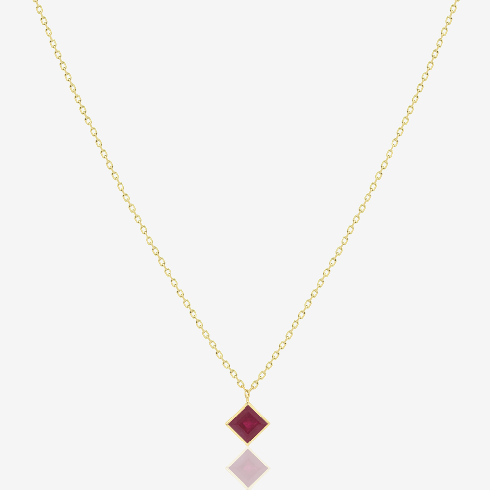 Princess Necklace in Ruby