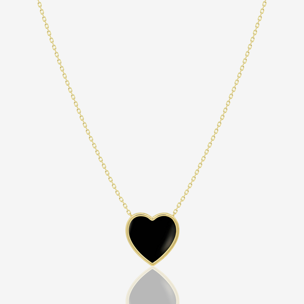 Cora Necklace in Black Onyx