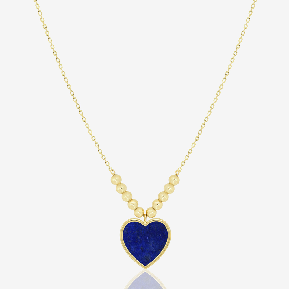 Amore Necklace in Lapis Lazuli
