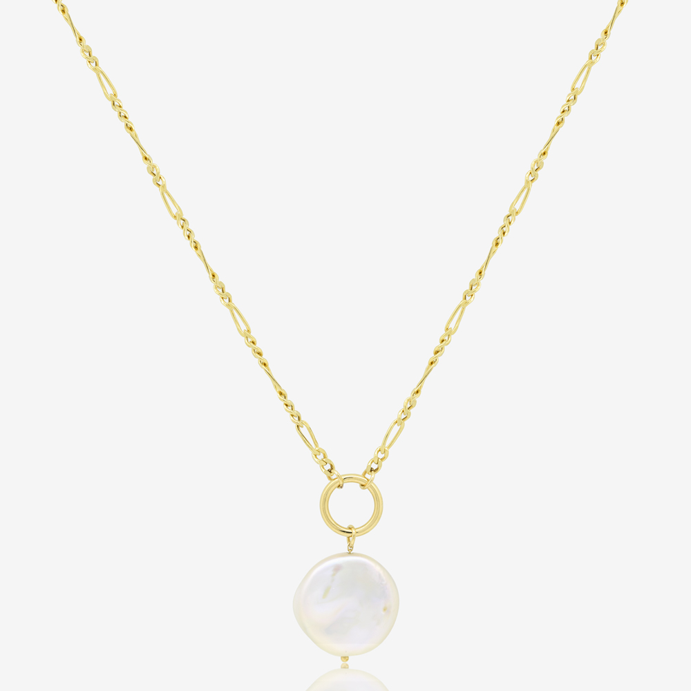 Figaro Necklace in Pearl
