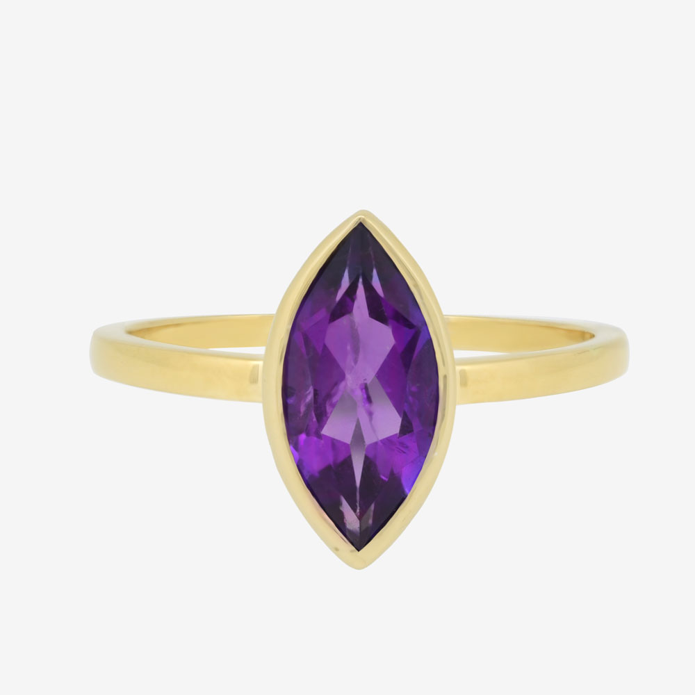 Marquise Ring in Amethyst
