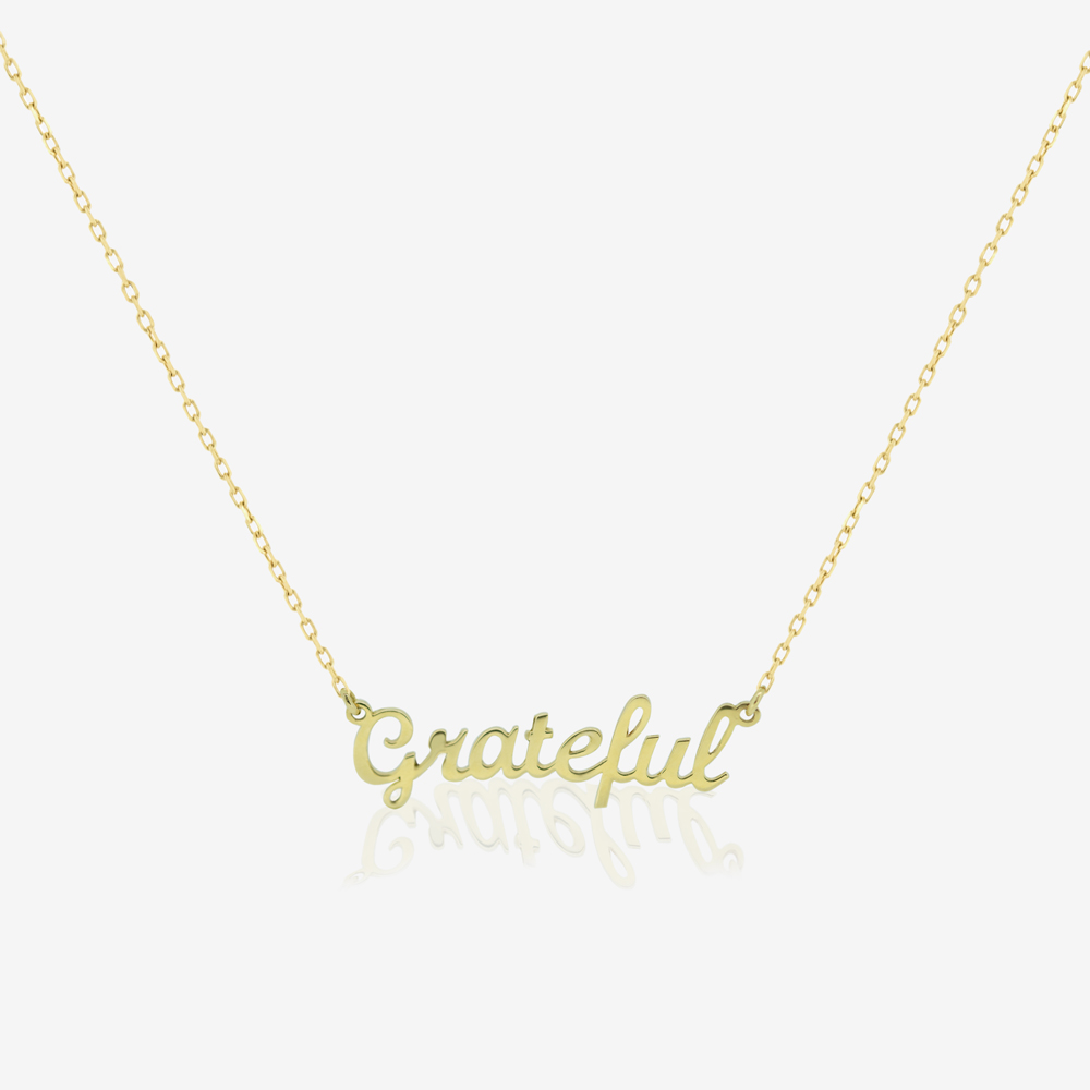 Grateful Mantra Pendant
