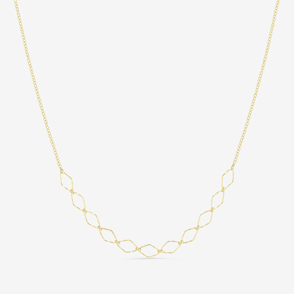 Rhombus  Sequence Necklace