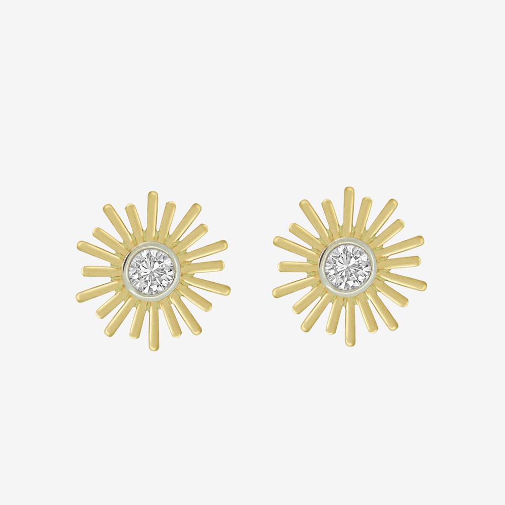 Sunshine Diamond Studs