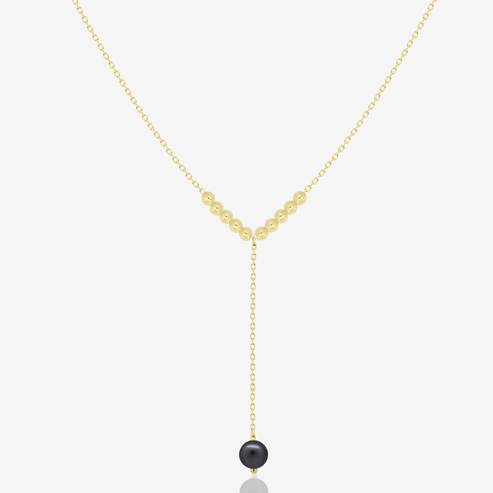 Miana Necklace in Pearl