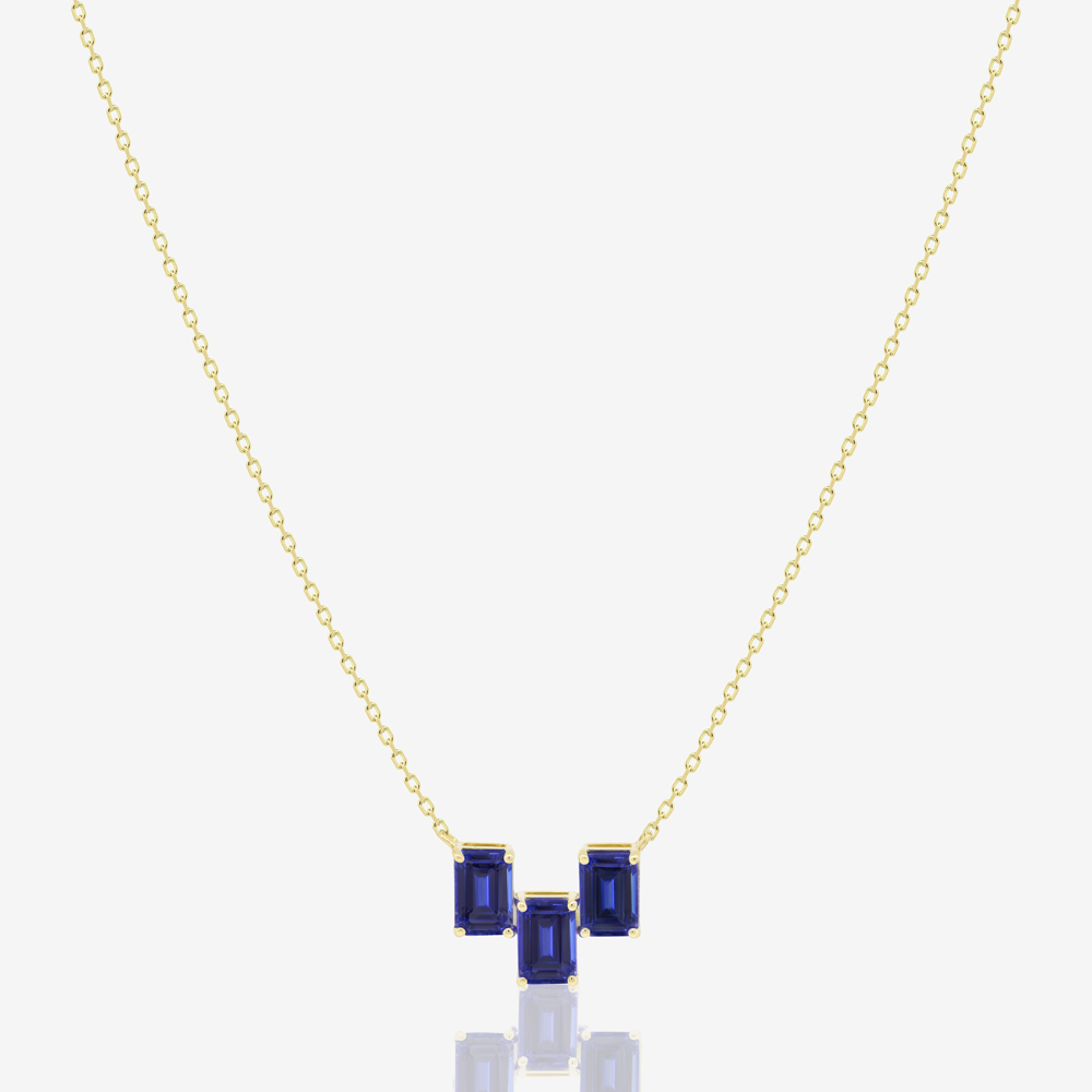 Montana Necklace in Sapphire